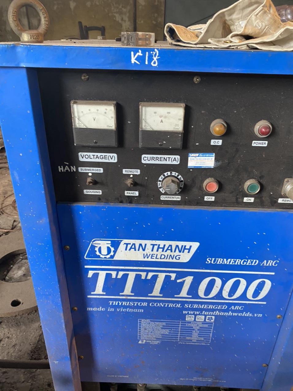 Máy hàn tự động tân thành TTT1000